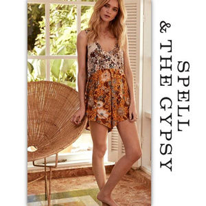 Spell And The Gypsy Collective Desert Daisy Romper